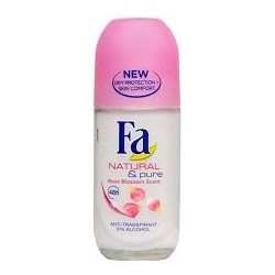 DEO FA  ROLL-ON NATURAL & PURE