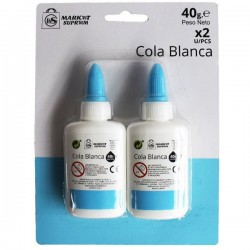COLA BLANCA 40GRS 2 UNDS