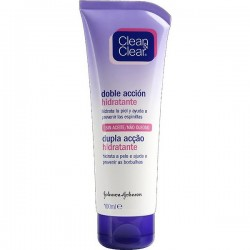 EMULSION HIDRATANTE CLEAN Y CLEAR ACCION DOBLE 100ML.